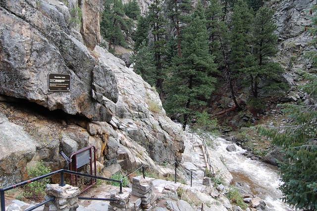 Stairway - Hiking at Boulder Falls, Boulder, CO