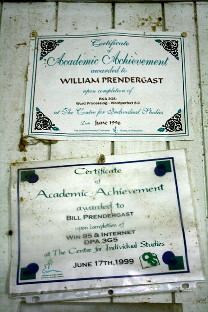 Certificates of Academic Achievement