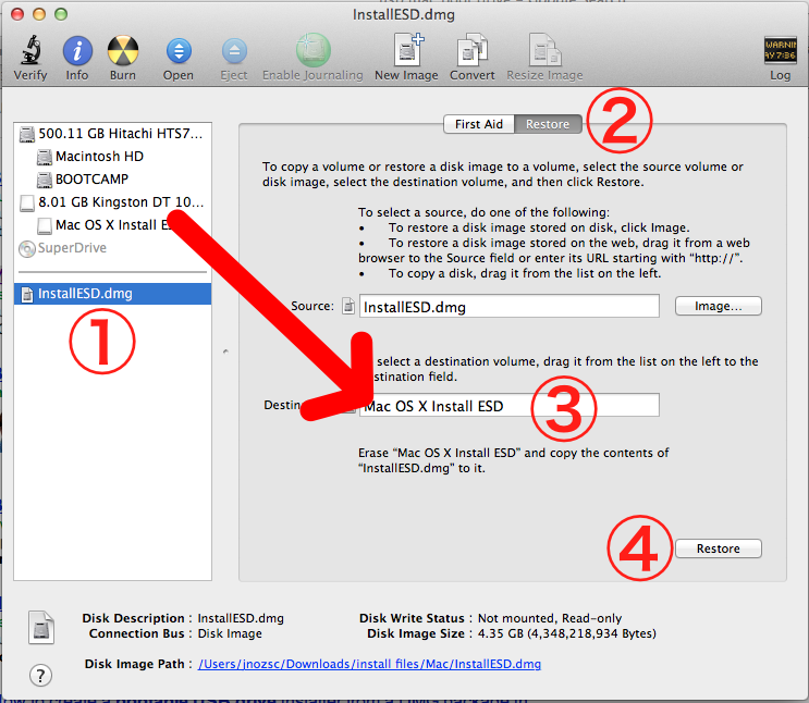 how to create bootable drive