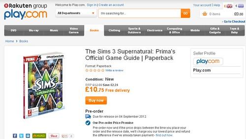 Supernatural Prima