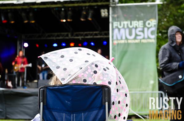 Rain at FOMF