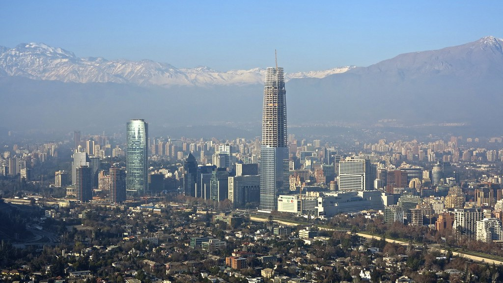 Winter in Santiago, Chile