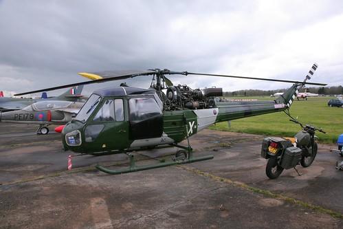 (G-BXRL) / XT630 / X Westland Scout AH.1 msn:F.9636