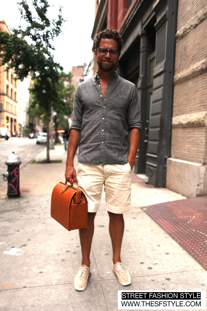 9a0634bfb74 Man Morsel Monday - Summer Outfit + Vintage Briefcase - New York (NYC)