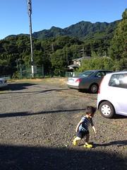 朝散歩 (2012/7/17)