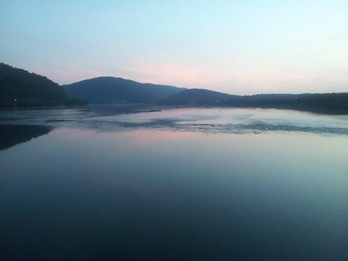 sunset duncannon pa susquehanna river