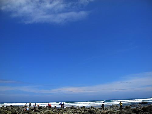 沒有人投票給東海岸,美麗的海岸都在沒有污染的地方。圖為台東都歷海岸。