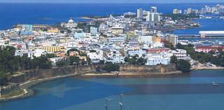 San Juan from Air (Postcard)