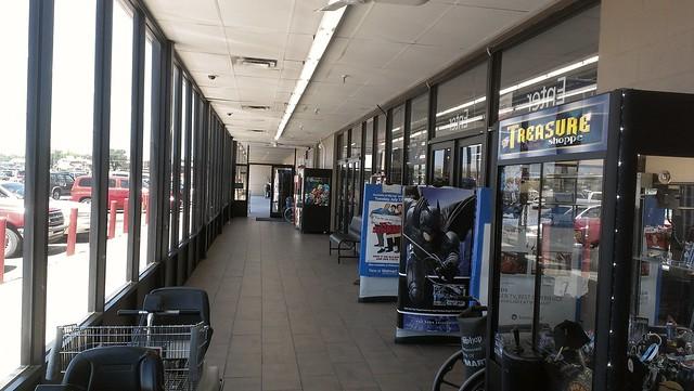 Wal mart baxter springs kansas lobby flickr photo sharing for Walmart pharmacy garden city ks