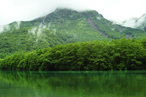 Taishoike Pond at Kamikochi