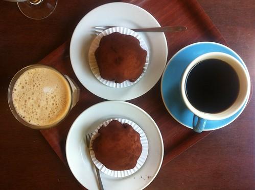 Kartoffelkager og kaffe