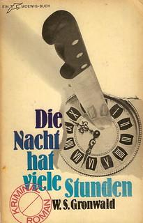 Werner Gronwald: Die Nacht hat viele Stunden