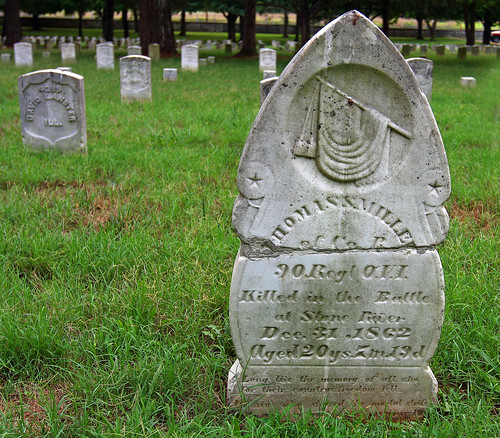 Dead Union Soldier from the Battle of Stones River