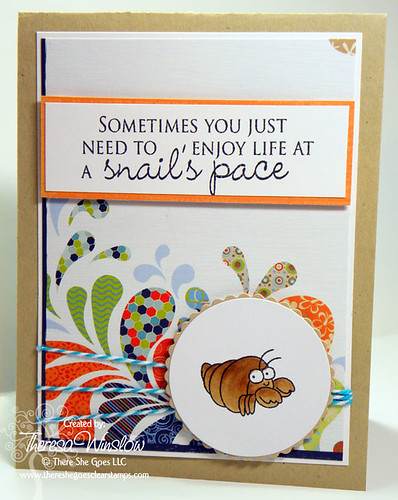 Beach Bum - There She Goes Clear Stamps