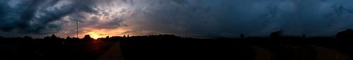 sunset panorama clouds iphone kentohio 360panorama