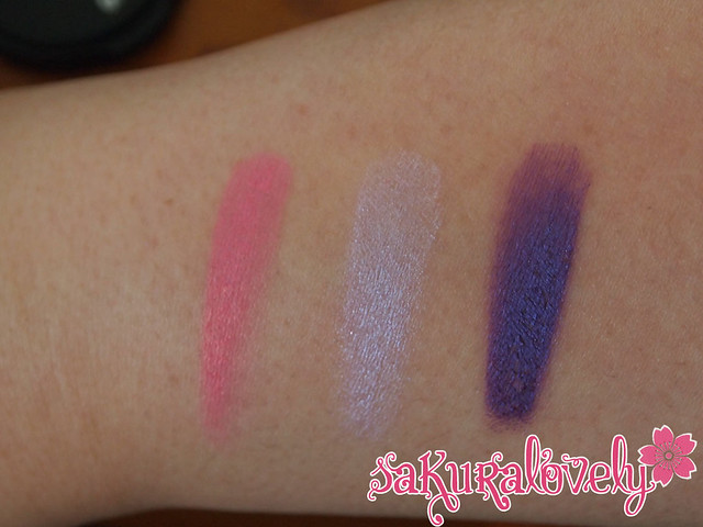 MUFE Swatches