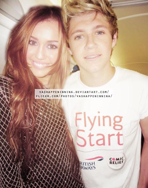 Miley Cyrus y Niall Horan - Manip