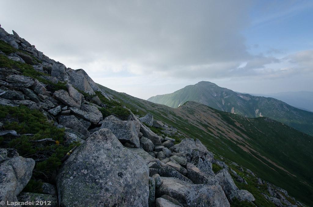 20120729 岩稜帯