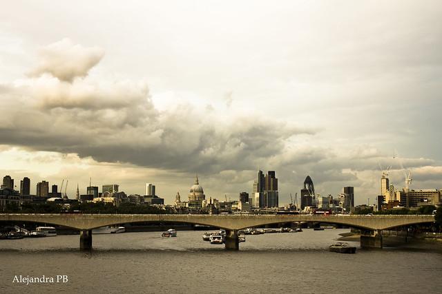 Cielo de Londres