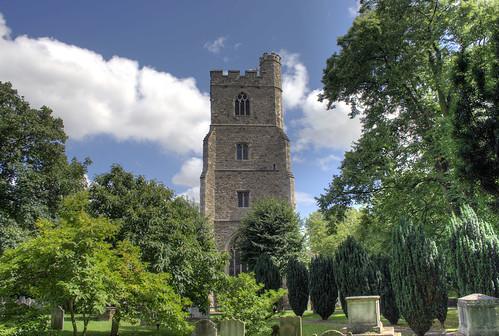 All Saints Fulham Church Tower