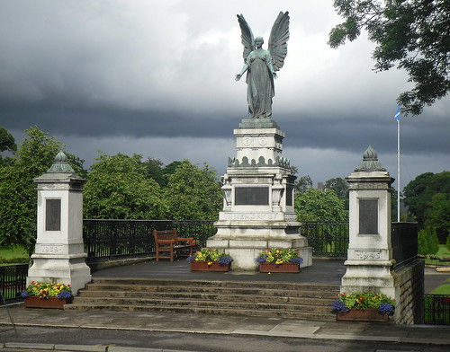 War Memorial, Cupar, Fife, Scotland