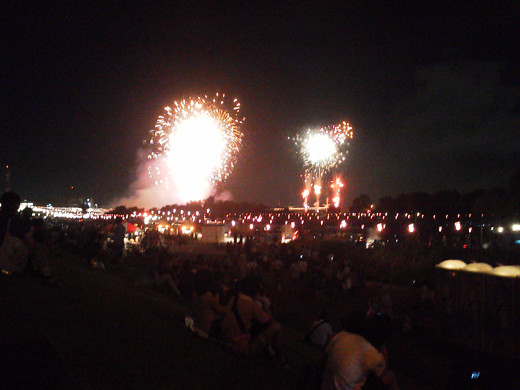 Itabashi fireworks Festival  3
