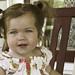 Rose Porch Swing Smile