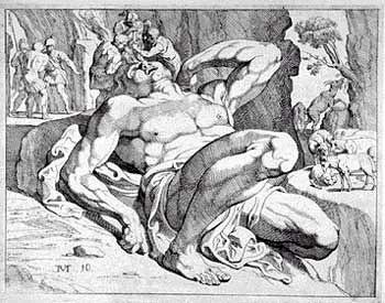 Odisseu e o ciclope Polifemo
