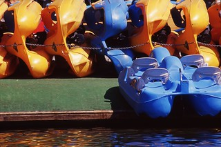 Day 199/365 - Yellow Boat, Blue Boat