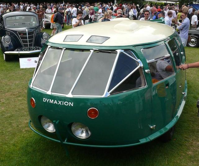 Dymaxion green 1933 Type vlo