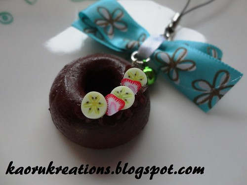 Cute Donut Phone charms