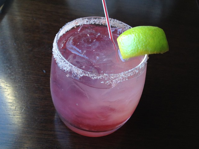 Pomegranate margarita - Eureka Restaurant and Lounge