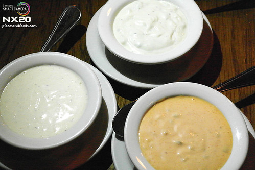 outback three dressing