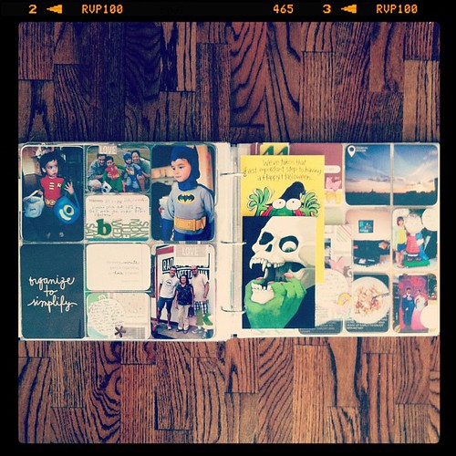 #projectlife week 44 inserts right side