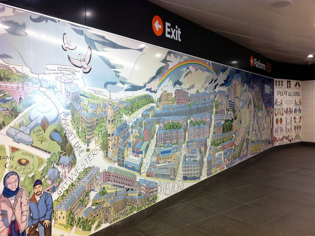 alasdair gray mural hillhead station flickr photo