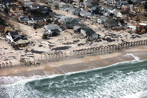 Sandy's aftermath on the New Jersey coast (courtesy of Greg Thompson/USFWS)