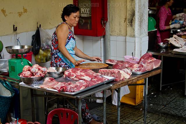 Ben Thanh Market Wet Market (meat)