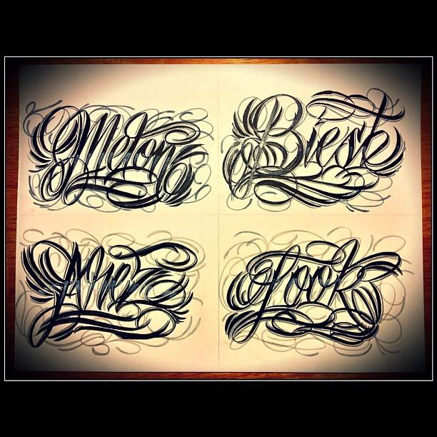 1995 Tattoo Design: Hawaii's Own Evil Villenz Est. 1995 @EVolve1 AKA @1EVlove