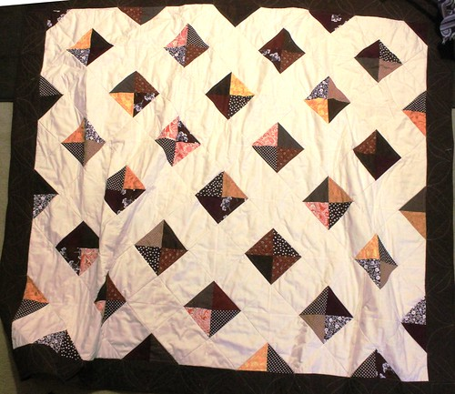 Fall Lattice Signature Quilt