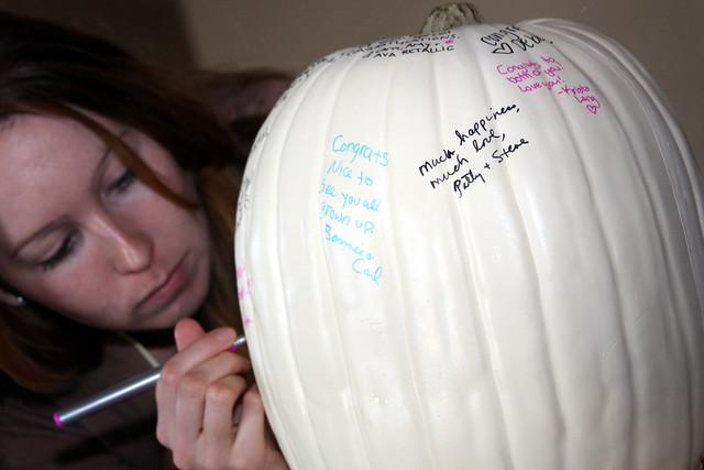 Guestbook Pumpkin