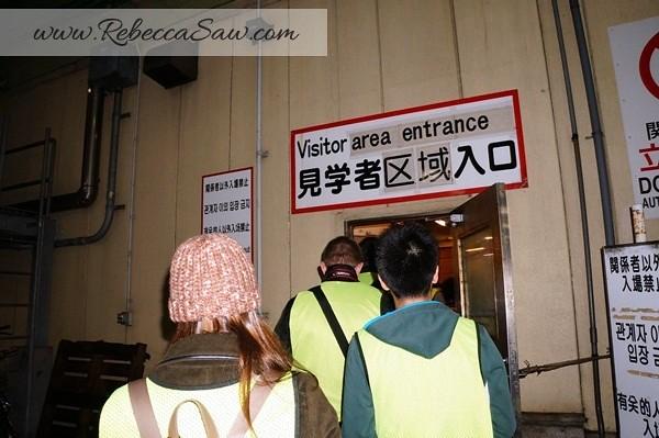 Tsukiji Market Tuna Auction - Tokyo Japan-012