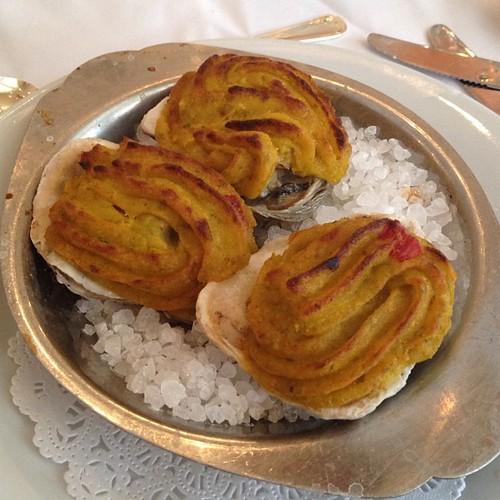 Oysters Bienville - Antoine's in New Orleans