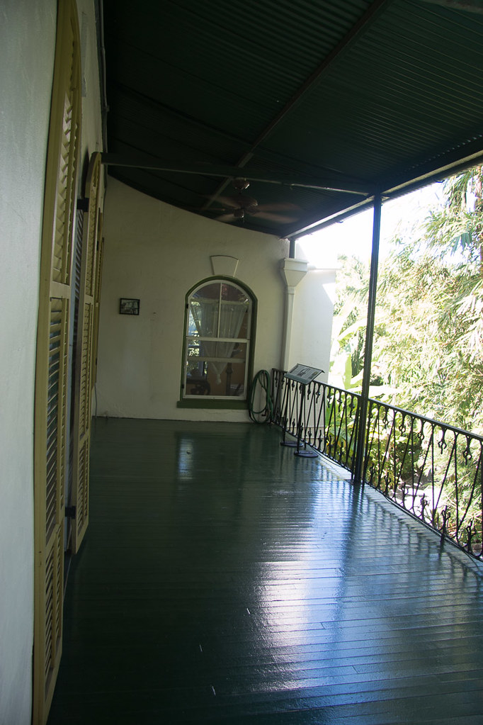 Balcony at Hemingway House
