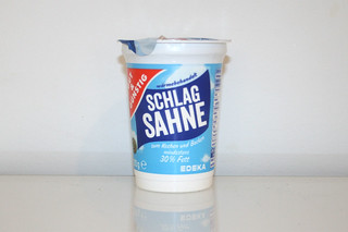 11 - Zutat Schlagsahne / Ingredient whipping cream
