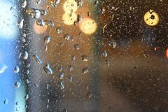 The rain bokeh