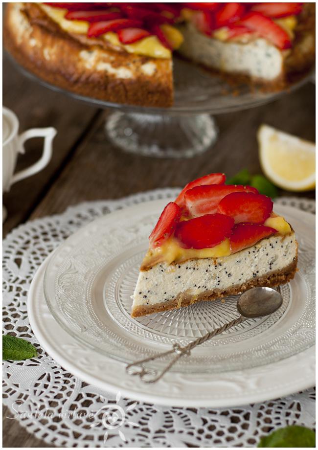 Citrininis sūrio tortas su aguonomis (6)