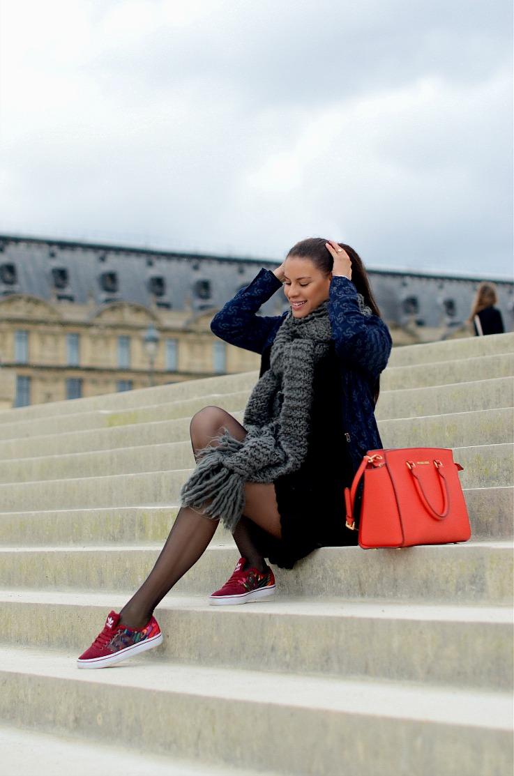 DSC_2365 Tamara Chloé, Michael Kors Selma Bag, adidas rita ora sneakers, G Star Raw For The Oceans, Paris final