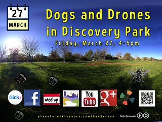March 27: Dogs and Drones in Discovery Park (Attribution-Share Alike license) Baseball