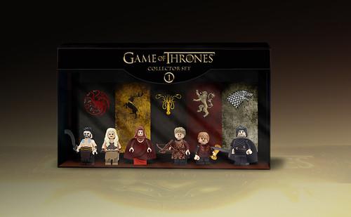 Game Of Thrones minifigures box