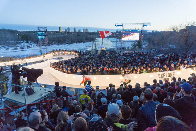 Red Bull Crashed Ice - Edmonton